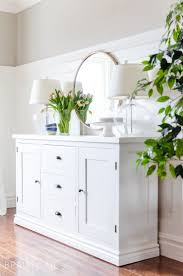 dining room sideboard white. building a modern farmhouse sideboard buffet is easy with these free plans. dining room white o