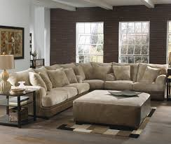 dazzling dark brown wall and stunning sectional sofa plus amazing square coffeetable star furniture houston