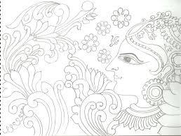 kerala mural painting pencil sketches kerala mural painting pencil sketches kerala mural painting pencil