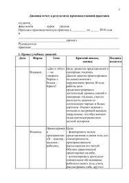 Отчёт по практике тифлопедагога doc Все для студента Отчёт по практике тифлопедагога