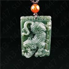 jade hetian natural certificada colar