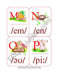 Redefine learning with smart phonetic alphabet found only at alibaba.com. My Phonetic Animal Alphabet Flash Cards 4 7 Esl Worksheet By Blunderbuster