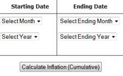 projected inflation calculator how do i calculate the inflation rate inflationdata com
