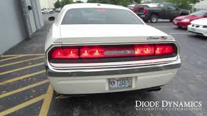 Challenger Sequential Lights Dodge Challenger Tail Light Leds With Sequential Turn Signals