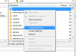 Create A Directory Managing Your Files In Filezilla Inmotion Hosting Support