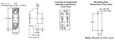 my gs miniature power relays dimensions omron industrial omron ly2 wiring diagram my gs dimensions 7 Omron Ly2n Wiring Diagram