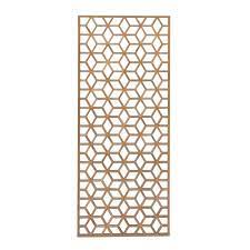 geometric pattern wall panel