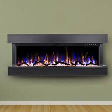touchstone home products chesmont 50 inch wall mount electric fireplace with black mantel 80034 gas log guys