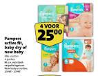 Pampers New Baby maat 0 aanbiedingen