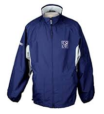 reebok jacket. reebok players inc. mens zip up lightweight jacket, navy blue (medium, jacket