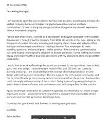 Cover Letter For A Customer Service Job Cover Letter Tumblr