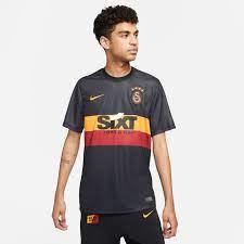 Nike Galatasaray 2021-2022 Deplasman Erkek Forma - Siyah CW2517-011