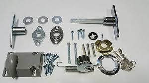 garage door t handle embly ke dead bolt cylinder lock key