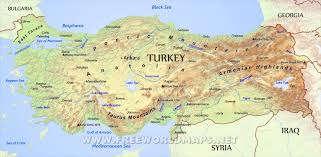 turkey physical features. Delighful Features Throughout Turkey Physical Features R