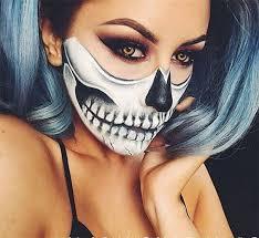 half face teeth makeup