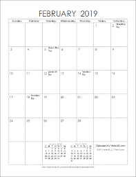 2019 Calendar Printable By Month 2019 Calendar Templates And Images