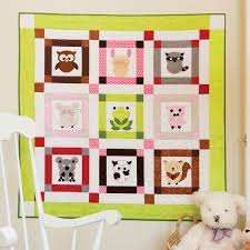 Go Talk To The Animals Baby Quilt Pattern Accuquilt Com Pq10509 ... & Go Talk To The Animals Baby Quilt Pattern Accuquilt Com Pq10509. nursery  ideas for boys Adamdwight.com