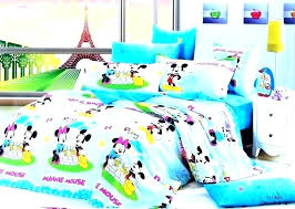 bedroom fascinating mickey mouse clubhouse toddler set bed modern home twin comforter mick