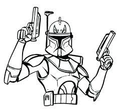 Kloon Trooper Kleurplaten Star Wars Fighter By Warp Zero On Library