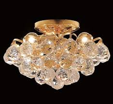 crystal semi flush ceiling light facebook share