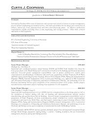 Project Engineer Resume Oil And Gas Resume For Study