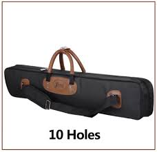 <b>High Capacity 10 Holes</b> Oxford Cloth 1/2 Billiard Pool Cue Case ...