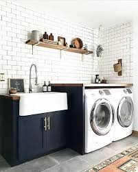 14 basement laundry room ideas for small space makeovers wash clothes in bathtub