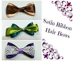 handmade hair accessories free tutorial with pictures on how to make a ribbon hair bow