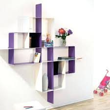 Purple Floating Shelves Custom Modern Shelves Bookshelf Outstanding Modern Shelving Units Modern