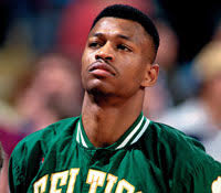Reggie Lewis was on his way to stardom before suddenly passing away on July 27, 1993. - reggie-lewis-200x175