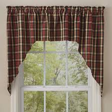 Park Designs Curtains And Valances Park Designs Concord Swag 72 X 36