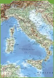 italy maps  maps of italy