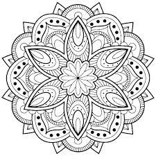 Free Mandala Coloring Pages Playanamehelp
