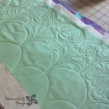 1012 best Free Motion Quilting images on Pinterest | Alps ... & Domestic/Home Sewing Machine Quilted Clamshells by Jen Eskridge Adamdwight.com
