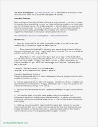 How To Write A Resume For A Federal Job Lovely Fresh Federal Job
