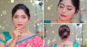 simple indian party makeup hairstyle for beginners in hindi rinkal soni