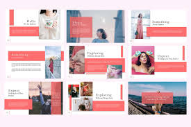 Ppt Style Notch Fashion Free Powerpoint Template