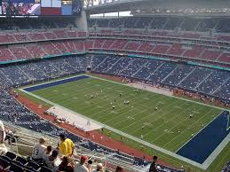 Nrg Stadium View From Grid Iron 629 Vivid Seats