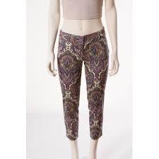 J Crew City Fit Size Chart Slim Pants J Crew Purple Size 00 0 5 In Cotton 6972182