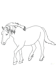 Just download one, open it in any image editor and print. Coloring Pages Printable Horse Coloring Page