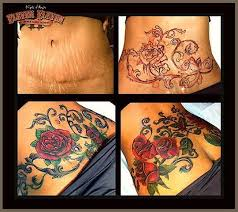 pictures of tattoos to cover stretch marks on stomach google search
