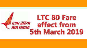 Ltc 80 Fare Effect From 5th March 2019 Central Government