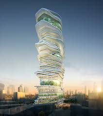 architecture skyscraper. Wonderful Skyscraper Endless City By SURE Architecture With Skyscraper O