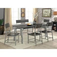Williams Home Furnishing Nunez Silver And Gray Industrial Style