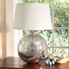 mercury glass table lamps a nostalgic sparkle for every