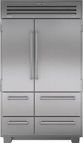 sub zero commercial refrigerator. Perfect Commercial SubZero 648PRO 48 Inch Builtin SidebySide Refrigerator With 184 Cu  Ft Capacity 3 Adjustable Spillproof Glass Shelves Dual Refrigeration System  For Sub Zero Commercial E