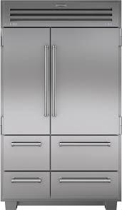 sub zero pro 48 price. Modren Price SubZero 648PRO 48 Inch Builtin SidebySide Refrigerator With 184 Cu  Ft Capacity 3 Adjustable Spillproof Glass Shelves Dual Refrigeration System  And Sub Zero Pro Price E