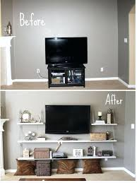 flat screen tv wall mount design ideas bedroom height mounting on wal