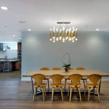 dining area lighting. Inspiration For A Contemporary Light Wood Floor And Beige Kitchen/dining  Room Combo Remodel Dining Area Lighting