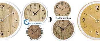 wall clock ams 9631 9632 novelty 2020